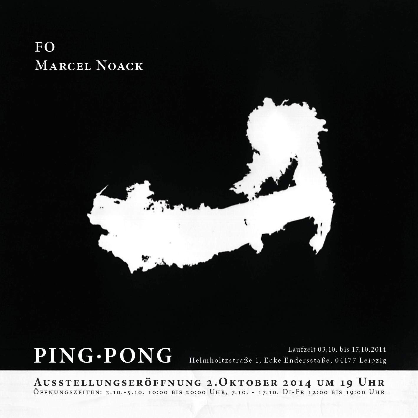 Flyer Marcel Noack FO